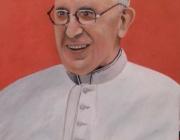 """Ritratto Papa Francesco"""